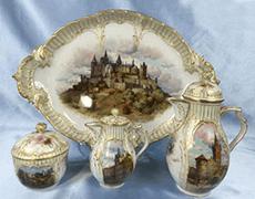 「KPMベルリン王立磁器製陶所」ティー食器セット