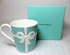 ティファニー「ブルーボックス」マグカップ