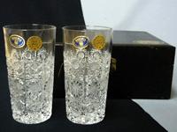 ボヘミア クリスタルタンブラーグラス
