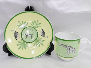 アフリカグリーン コーヒーカップ