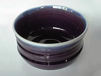 三代 徳田八十吉 茶碗