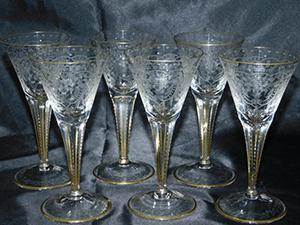 マハラニ ワイングラス ボヘミアグラス クリスタル