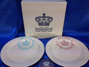 ロイヤルコペンハーゲン ニュー シグネチャー プレート皿