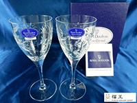 ジャスミンクリスタル ワイングラス