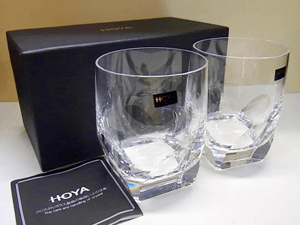 HOYAクリスタル ロックグラス