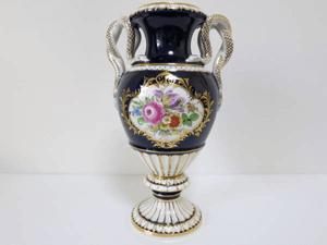 マイセン 金彩花紋絵付 花瓶