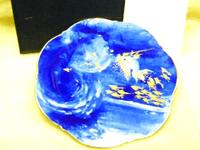 マイセンイヤープレート1995年海の戯れ